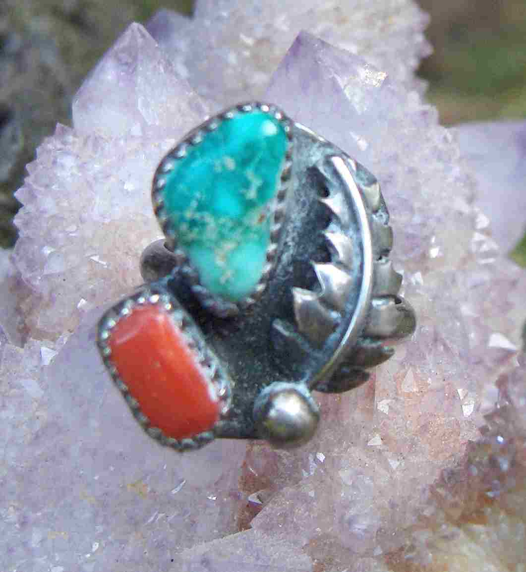 Turquoise & Silver Rings >> ENTER